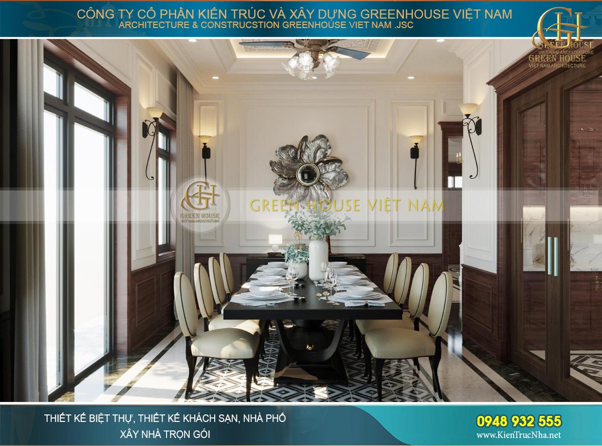 Thiết kế nội thất phong cách Luxury cho biệt thự 4 tầng 150m2