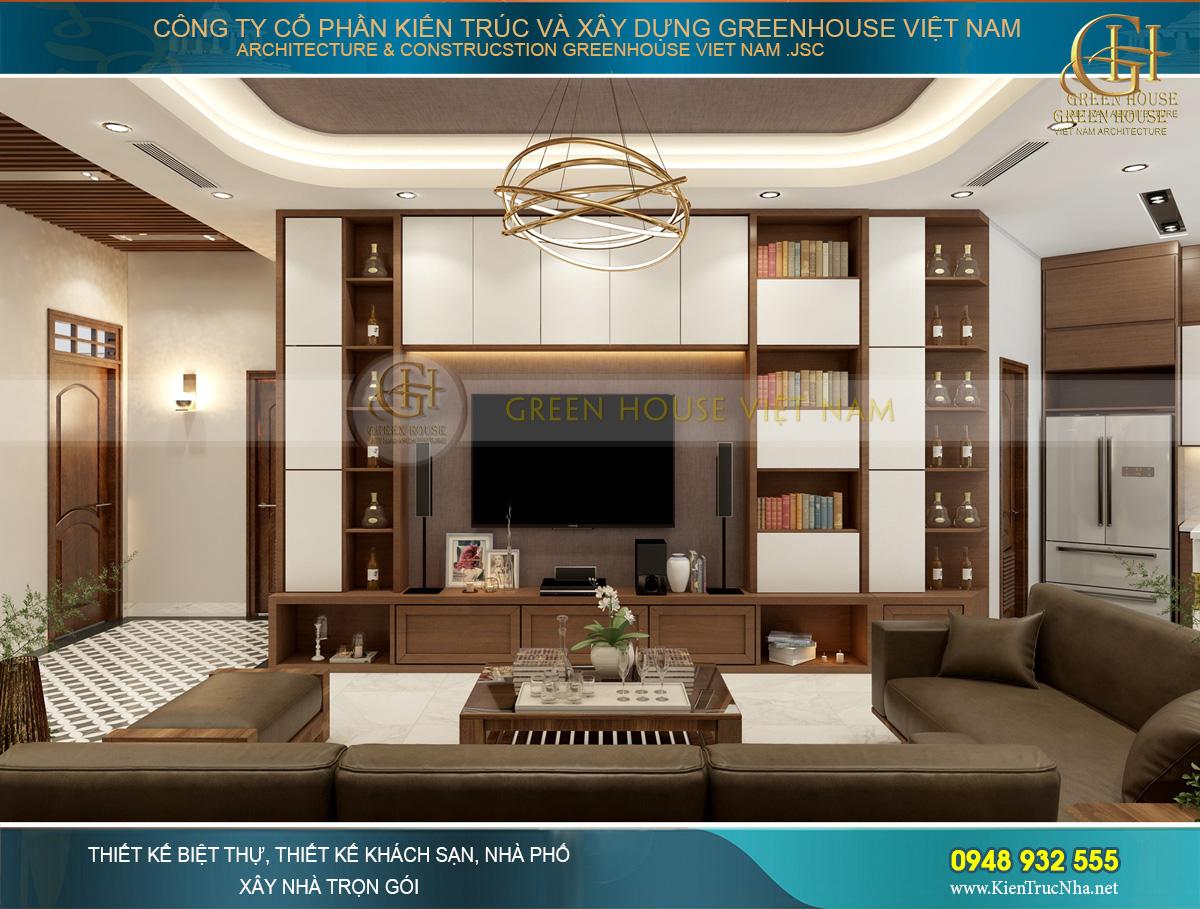 thiết kế nội thất chung cư hiện đại tại Hà Nội