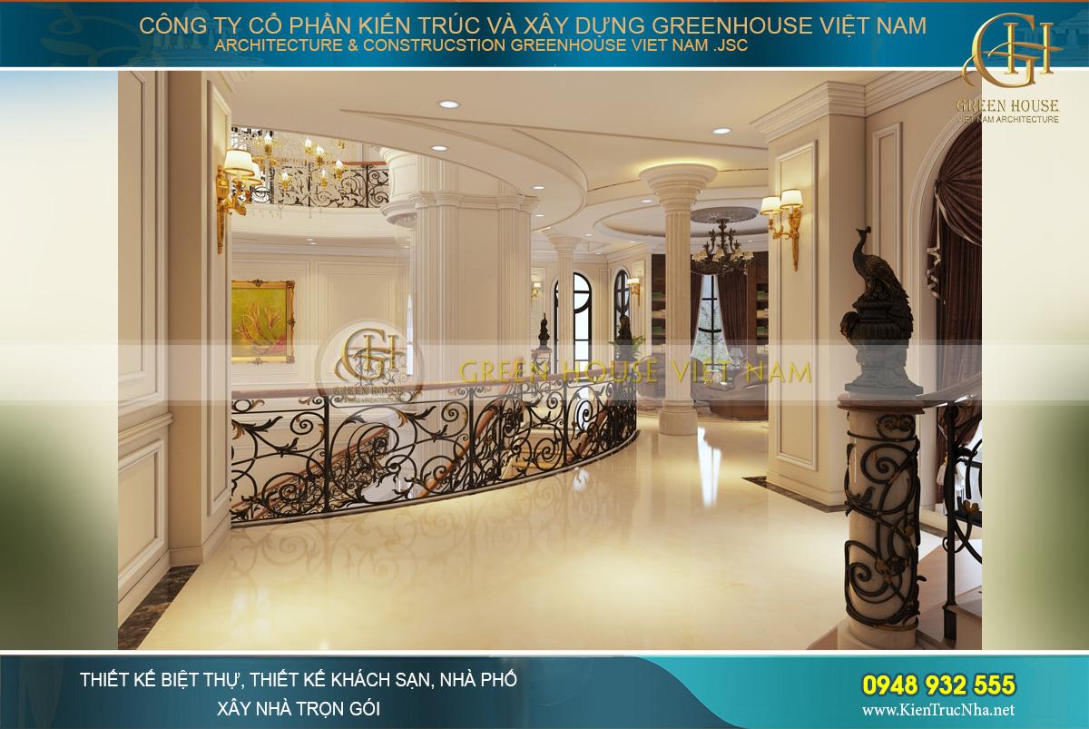 thiết kế dinh thự cổ điển tại Phan Thiết